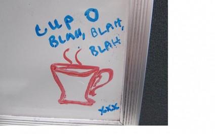 Cup of Blah Blah Blah