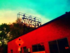 Integrity Blowing in Wind