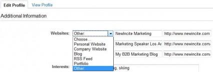 LinkedIn Custom Link Descriptions