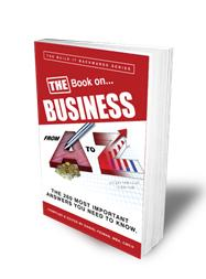 Blog entry excerpted from the Marketing chapter of The Book on Business from A to Z