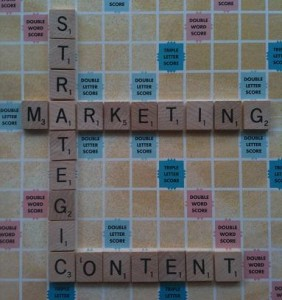 strategic marketing content