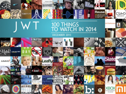 JWT 100 trends in 2014