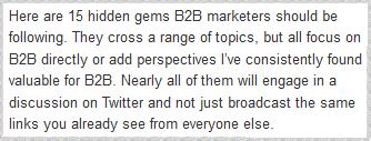 Eric Wittlake 15 B2B Marketers to Follow