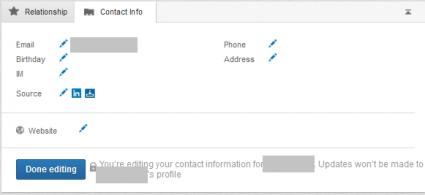 LinkedIn Contact Info